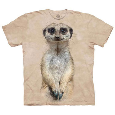 The Mountain - Meerkat Portrait T-Shirt