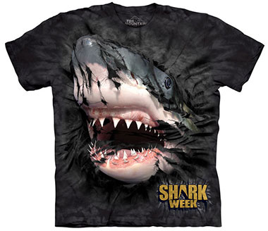 The Mountain - Shark Week Breakthrough T-Shirt