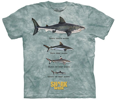 The Mountain - Shark Line Up T-Shirt