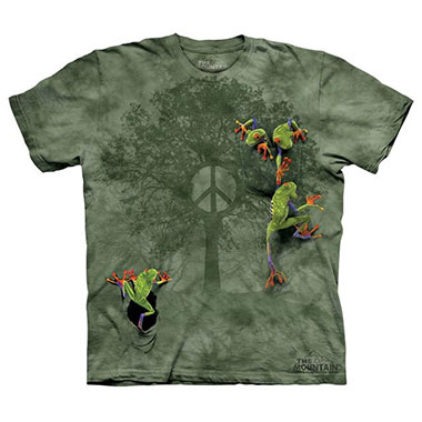 The Mountain - Peace Tree Frog - Youth