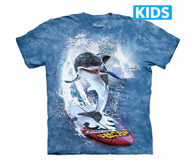 The Mountain - Shark Surf Kids T-Shirt