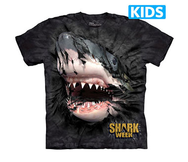 The Mountain - Shark Week Breakthrough Kids T-Shirt