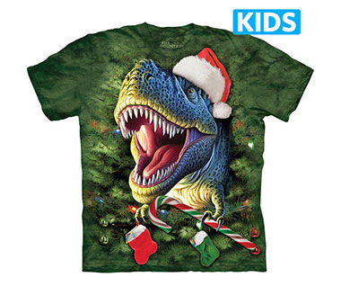 The Mountain - Xmas T-Rex Kids