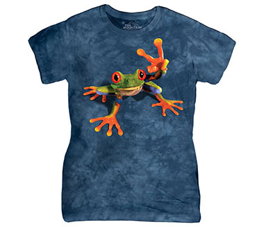 The Mountain - Victory Frog Women's T-Shirt