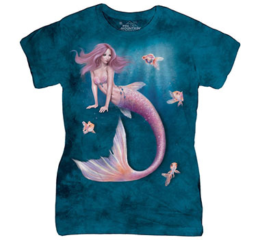The Mountain - Mermaid Women's T-Shirt