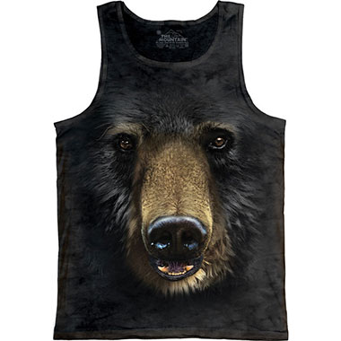 The Mountain - Black Bear Face Tank