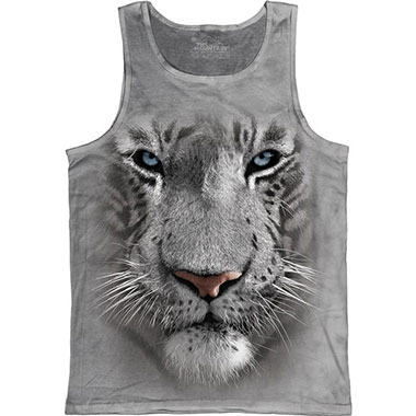 The Mountain - White Tiger Face Tank