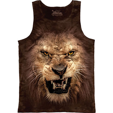 The Mountain - Big Face Roaring Lion Tank