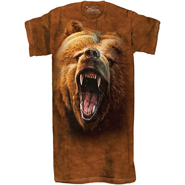 The Mountain - Grizzly Growl Sleepy Tee