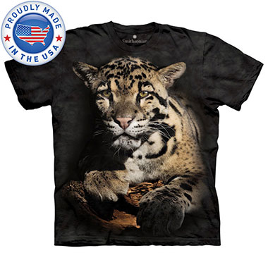 The Mountain - Clouded Leopard T-Shirt
