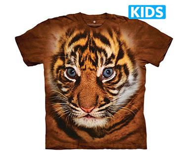 The Mountain - Big Face Sumatran Tiger Cub Kids