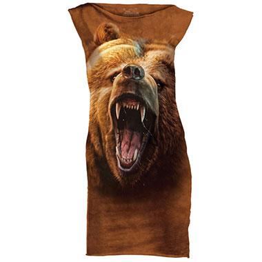 The Mountain - Grizzly Growl T-Shirt Mini Dress