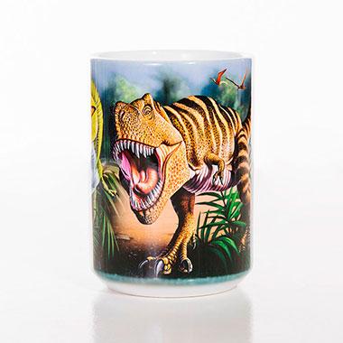 The Mountain - Rex Collage Ceramic Mug