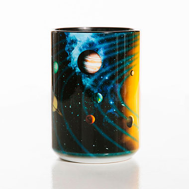 The Mountain - Solar System Ceramic Mug