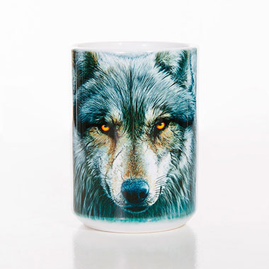 The Mountain - Warrior Wolf Ceramic Mug