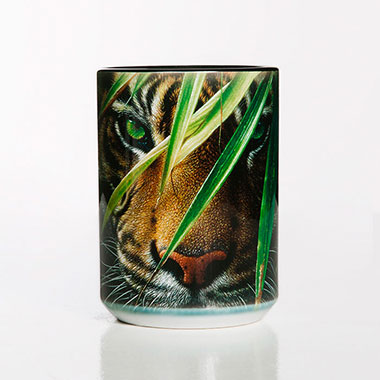 The Mountain - Emerald Forest Ceramic Mug