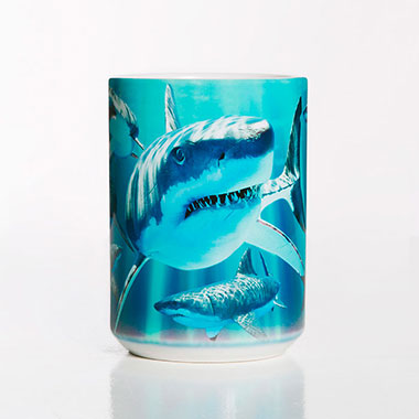 The Mountain - Great Whites Ceramic Mug