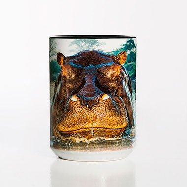 The Mountain - Hippo Ceramic Mug