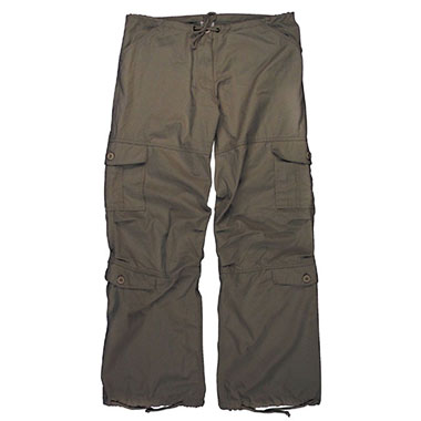 Rothco - Womens Vintage Paratrooper Fatigue Pants - Brown