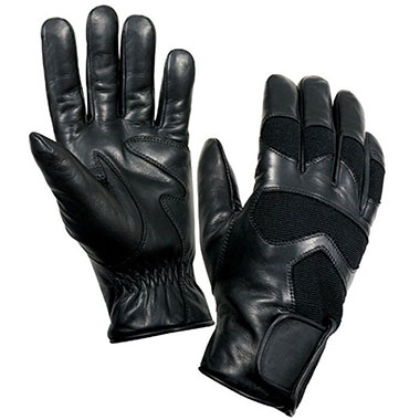 Rothco - Cold Weather Leather Shooting Gloves - Black