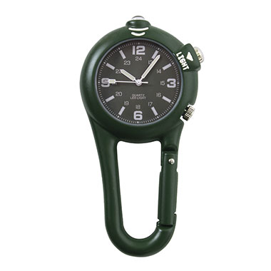 Rothco - Clip Watch w/ LED Light - Olive Drab