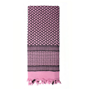 Rothco - Lightweight Shemagh Tactical Desert Scarves - Pink
