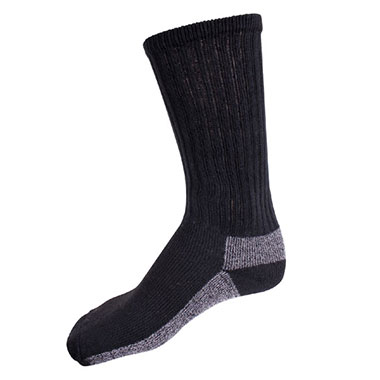 Rothco - Chukka Marino Wool Boot Socks - Black