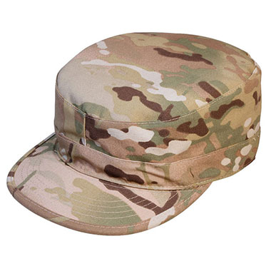 Rothco - Gov't Spec 2 Ply Multicam Army Ranger Fatigue Cap - MultiCam