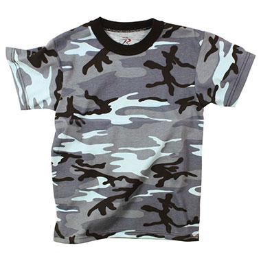 Rothco - Kids Camo T-Shirts - Sky Blue Camo