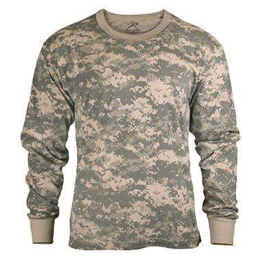 Rothco - Kids Long Sleeve T-shirt - ACU Digital