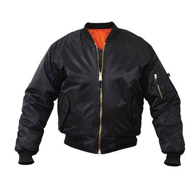 Rothco - Kids MA-1 Flight Jackets - Black