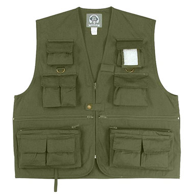 Rothco - Uncle Milty Travel Vest - Olive Drab