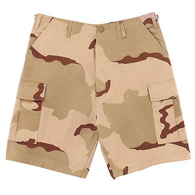 Rothco - BDU Short Tri-Color Camo
