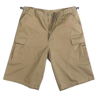 Rothco - Long Length BDU Short - Khaki