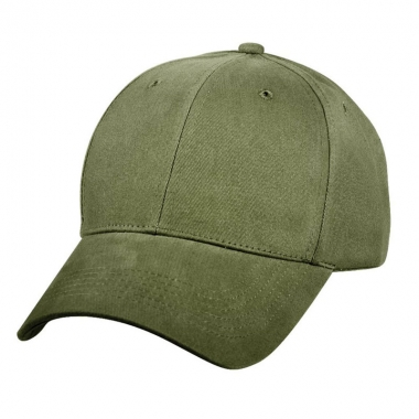 Rothco - Supreme Solid Color Low Profile Cap - Olive Drab