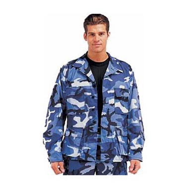 Rothco - Ultra Force Sky Blue Camo BDU Shirts