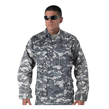 Rothco - Subdued Urban Digital Camo BDU Shirt