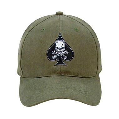 Rothco - Low Profile OD Death Spade Cap
