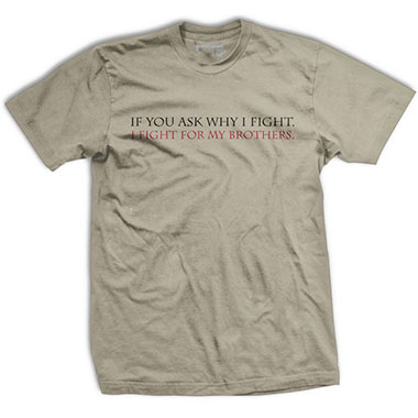 Ranger Up - Fight For Me Normal-Fit T-Shirt