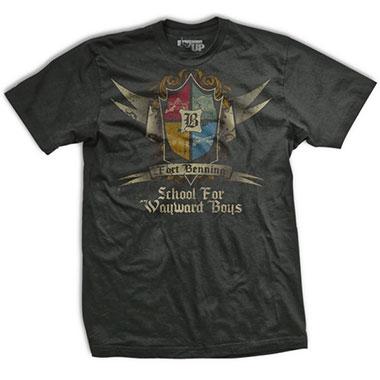 Ranger Up - Fort Benning School for Wayward Boys Normal-Fit T-Shirt