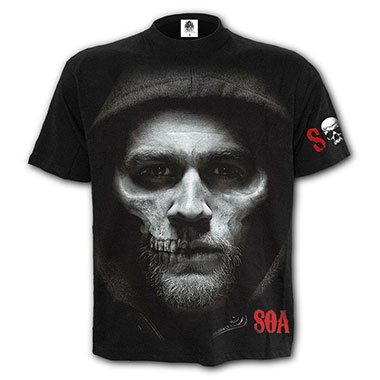 Spiral Direct - JAX SKULL - T-Shirt Black