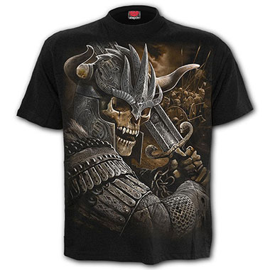 Spiral Direct - VIKING WARRIOR - T-Shirt Black