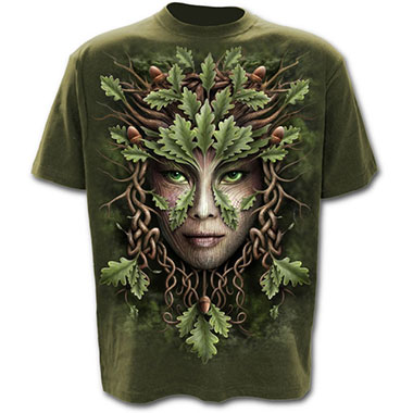 Spiral Direct - OAK QUEEN - T-Shirt Olive