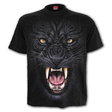 Spiral Direct - TRIBAL PANTHER - T-Shirt Black - T-Shirt Black