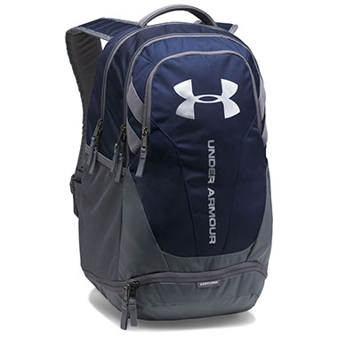 Under Armour - UA Hustle 3.0 Backpack - Midnight Navy / Graphite