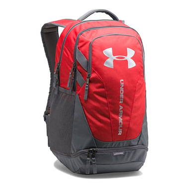 Under Armour - UA Hustle 3.0 Backpack - Red / Graphite
