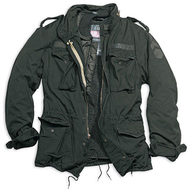 Surplus - Regiment M65 Jacket - Black Washed