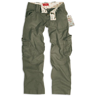 Surplus - Ladies Trousers - Olive Washed