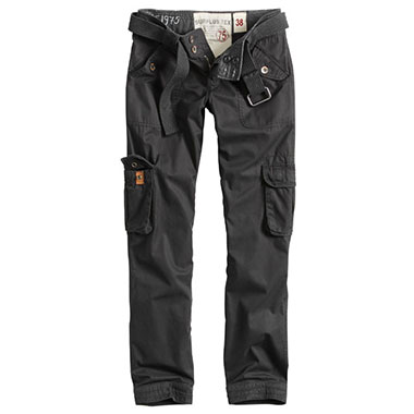 Surplus - Ladies Premium Trousers Slimmy - Black Washed