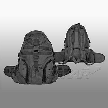 TEXAR - Bergamo backpack - Black